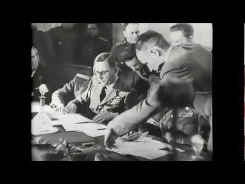 Germany's Unconditional Surrender - Deutsche Kapitulation