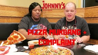 PIZZA MUKBANG | CALLING BURGER KING CORPORATE OFFICE WITH A COMPLAINT