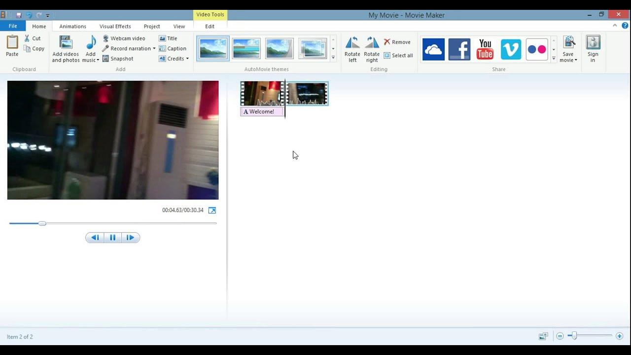 Windows Live Movie Maker 16.4