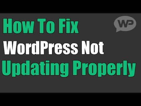 FIX WordPress Not Updating Properly (How To Empty WP Cache)