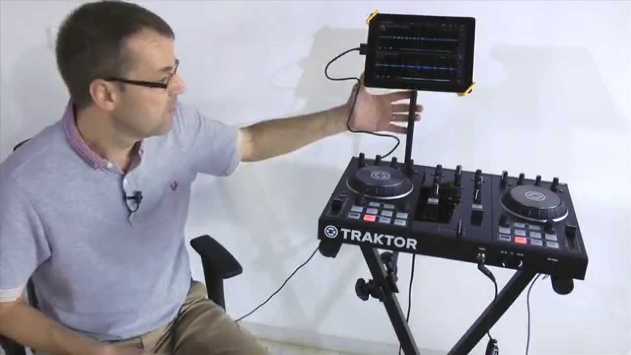 Hercules keyboard tablet stands for ipad djs youtube - Hercules tablet stand ...