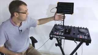 Hercules Keyboard & Tablet Stands For iPad DJs