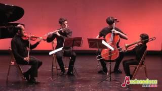El principio de todo de Iker Jarauta (10 años) - Cuarteto de violín, flauta, cello y trombón