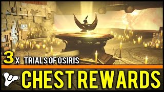 Destiny: 3x Trials of Osiris Rewards at The Lighthouse! + Tips for Trials & Gameplay of New Weapons!