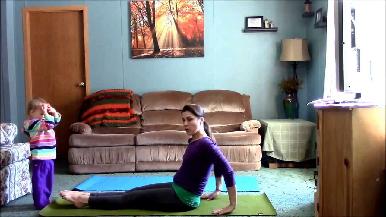 Living Room Yoga A No Excuse Practice Mommy And Toddler You