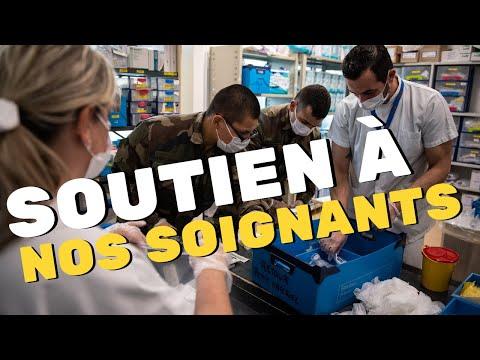 Unités dappui sanitaire à Marseille en soutien du personnel soignant