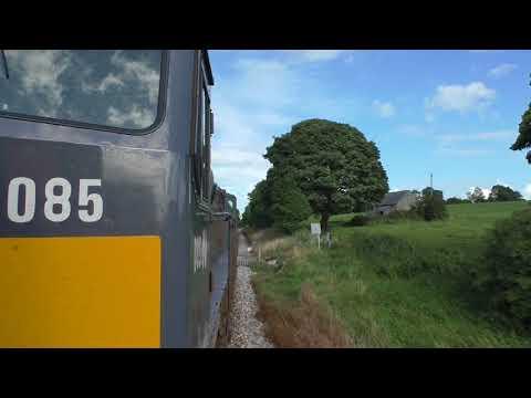 (HD) Iarnród Éireann/Irish Rail Class 071, number 085 THRASH - 12/8/17