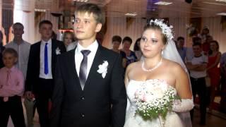Клятва жениха и невесты. Свадьба. Степногорск.