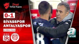 Sivasspor 0-1 Antalyaspor MAÇ ÖZETİ (Ziraat Türkiye Kupası Çeyrek Final Maçı) /
