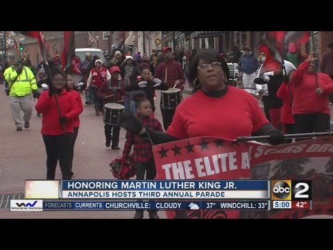 Annapolis holds Martin Luther King Jr. Day parade