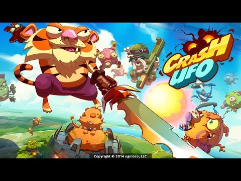 Crash UFO - iOS / Android - HD (Sneak Peek) Gameplay Trailer