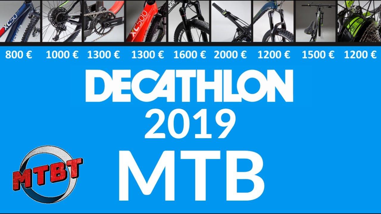 Decathlon Mountain Bike Rockrider 2019 Mtbt