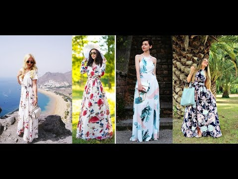 Cute Outfit Ideas for Summer 2018 Maxi Dress LOOKBOOK – The Right Way to Wear a Maxi Dress 8