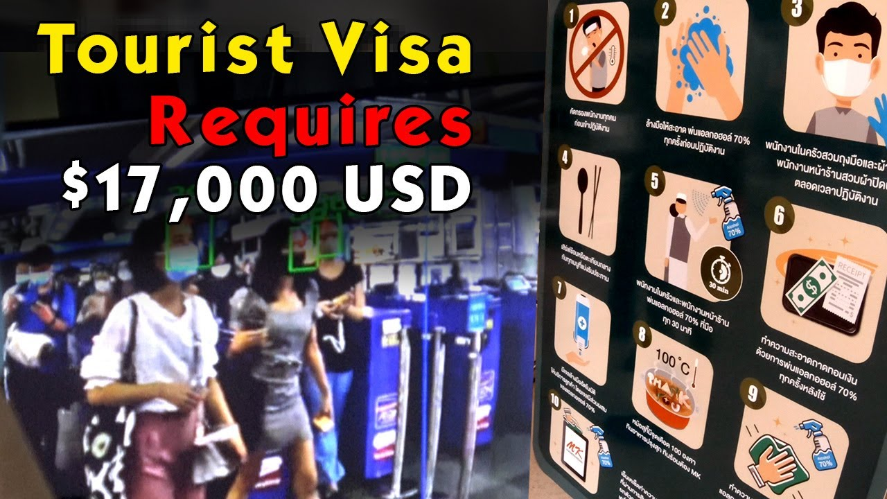 Thailand Tourism News: Single Entry Tourist Visa Now Requires $17,000 USD
