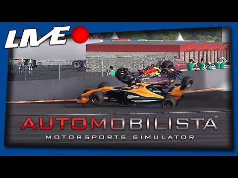 Formula one madness! Spa drama! (Automobilista Live)