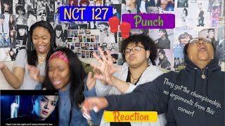 NCT 127 PUNCH REACTION [AAYYYEEE WE BALLIN'!]
