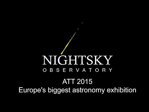 ATT 2015- Amateur Astronomi Fair, A video tour