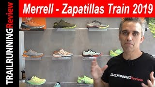 Merrell - Gama zapatillas Train 2019