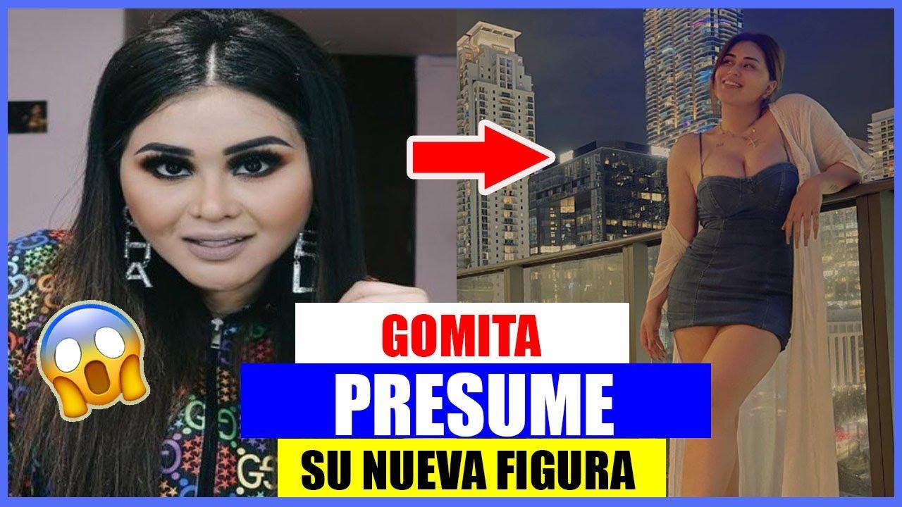GOMITA PRESUME SU NUEVA FIGURA EN ENTALLADO Y ESCOTADO VESTIDO BLANCO; BAJÓ 7 KILOS😱😱