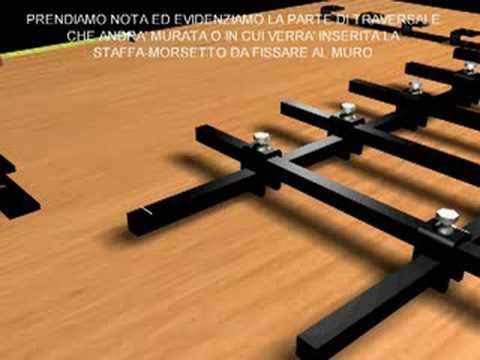 Istruzioni montaggio inferriata fai da te f10 youtube for Laghetto per anatre fai da te