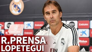 Sevilla - Real Madrid | Rueda de prensa de Lopetegui I Diario AS