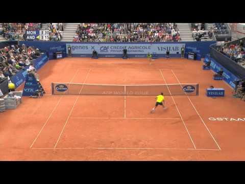 Gstaad 2014 Final Highlights Andujar Monaco