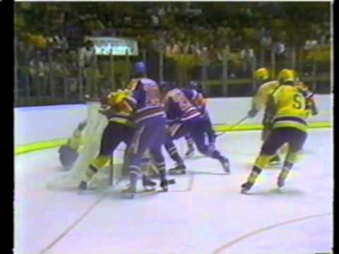 1982 Edmonton Oilers vs LA Kings - The Miracle on Manchester - Hockey