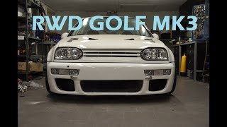 RWD Volkswagen Golf MK3 Build Project