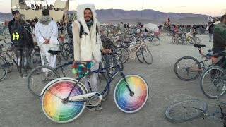 Electric Bikes of Burning Man 2015