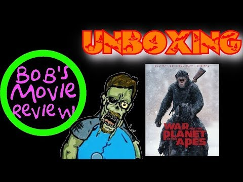 War For The Planet Of The Apes 3D Unboxing + Digital HD Giveaway ( Open In USA Only)