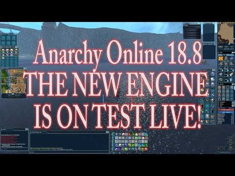 ANARCHY ONLINE 18.8 THE NEW ENGINE IS ON TEST LIVE !(2560 X 1440)