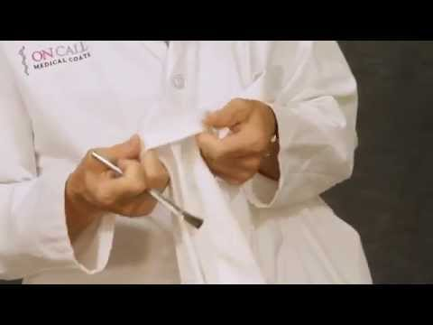 How to care for your lab coat | On Call Medical Coats 877-355-2898