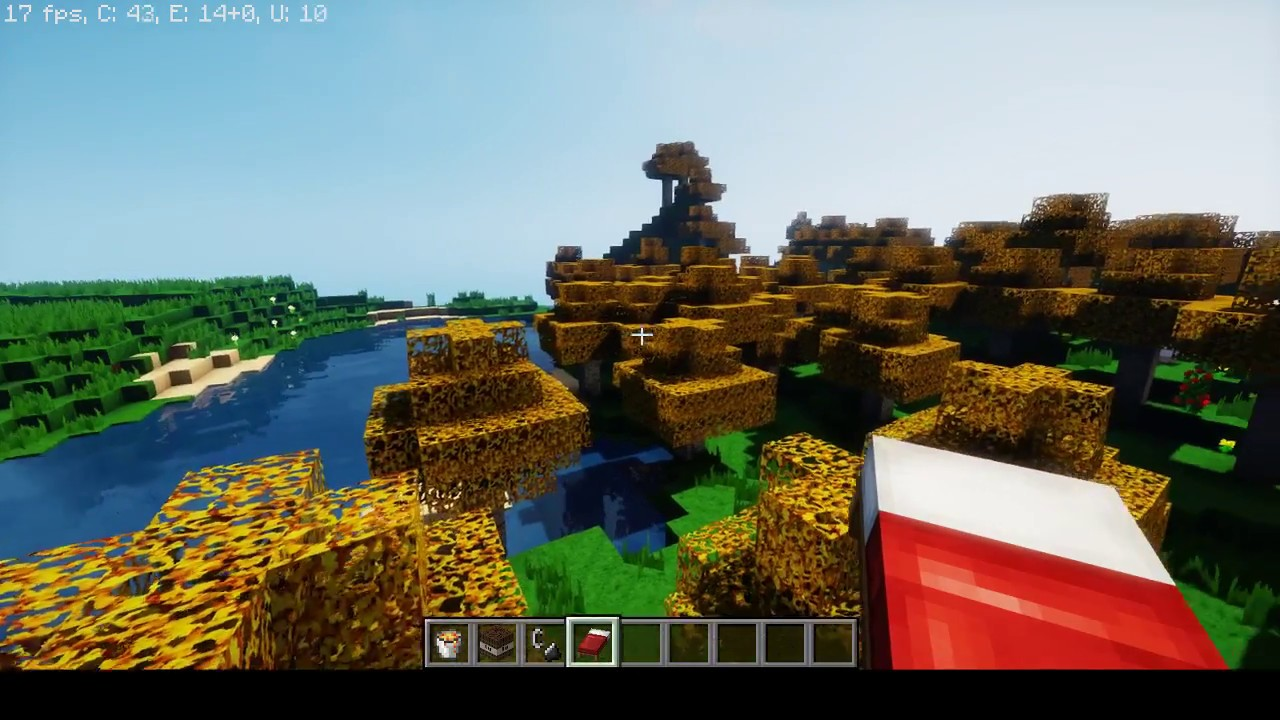 Minecraft Xbox One X super duper graphics pack