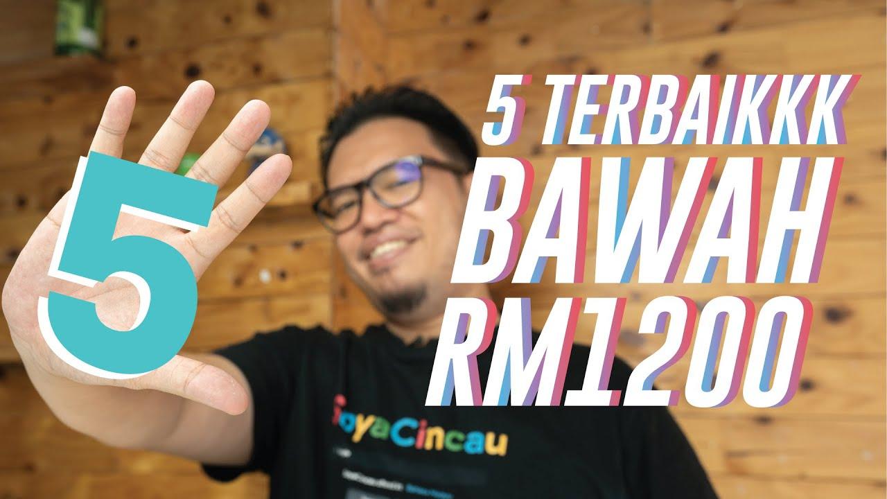 5 telefon terbaik bawah RM1,200 di Malaysia (Mei 2020)