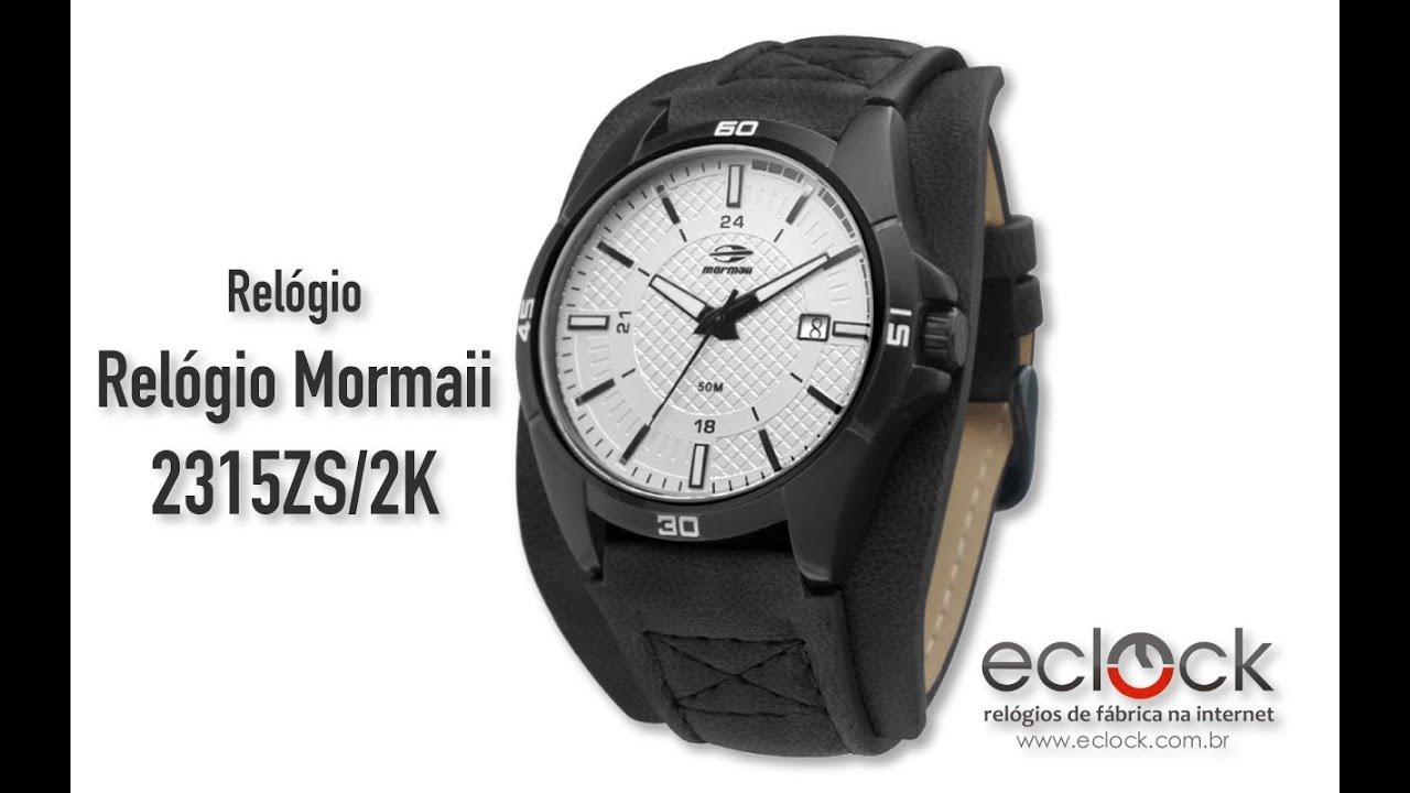 b94e1806491e3 Relógio Mormaii Masculino 2315ZS 2K - Eclock - YouTube