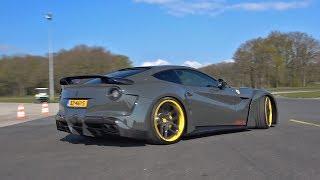 Supercars Accelerating LOUD! Ferrari F12 N-Largo, Aventador S, 720S, LibertyWalk GT-R & More!