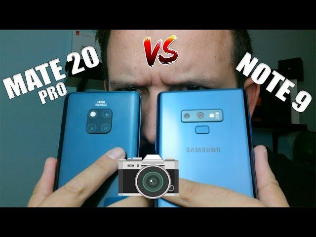 HUAWEI MATE 20 PRO vs SAMSUNG GALAXY NOTE 9 - menudas cámaras  - ¿Y AHORA QUÈ?