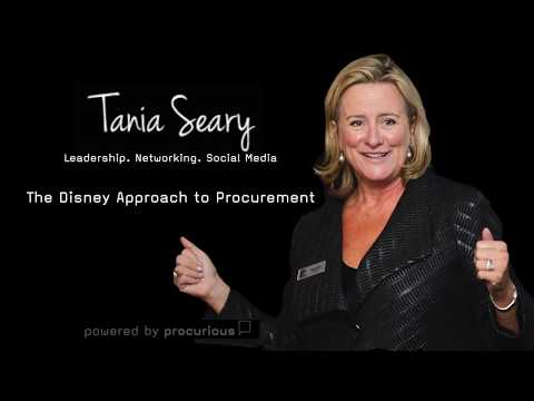 Tania Seary - The Disney Approach to Procurement