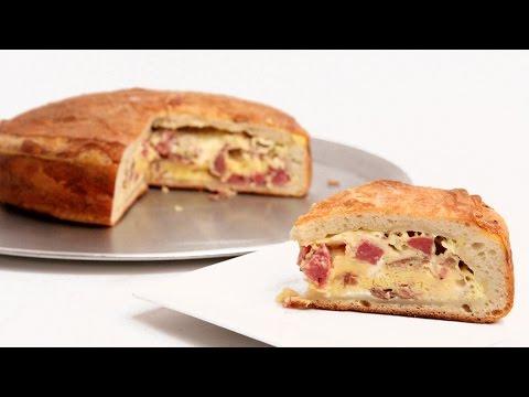 Mamma's Pizza Rustica Recipe - Laura Vitale - Laura in the Kitchen Episode 891