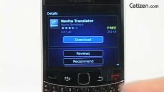 BOLD9700 - 블랙베리 앱 월드