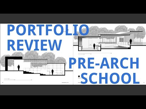 Portfolio Review (Pre-College)