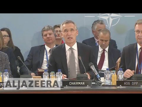 NATO foreign ministers meet amid strained alliance ties