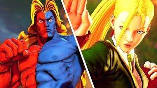 Street Fighter 5 - Urien (GILL) vs Cammy (School Uniform) English Manor @ 1080p (60ᶠᵖˢ) HD ✔