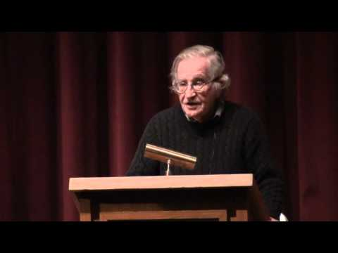Noam Chomsky: Israel And Palestine (Full Lecture)