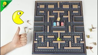 How to make Amazing Game PACMAN 2 from Cardboard - [No.9] Amazing Game from Cardboard