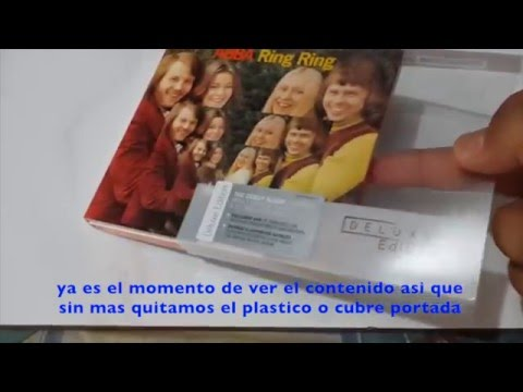 ABBA Ring Ring Deluxe Edition (Video Unboxing, Sub, Español)