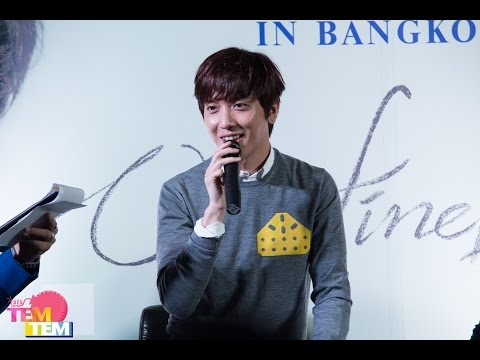 150403 Jung Yong Hwa Live [One Fine Day] in Bangkok Press Conference