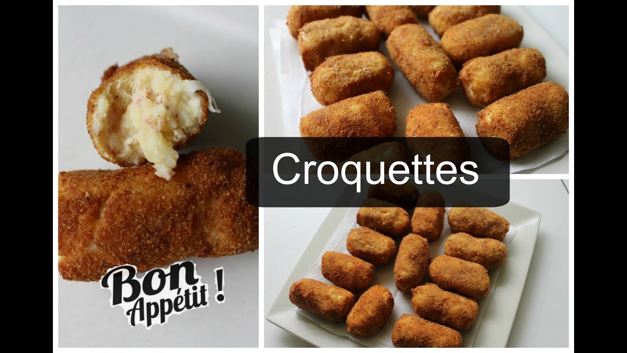 Croquette De Jambon Au Four recette : croquettes jambon & pommes de terre