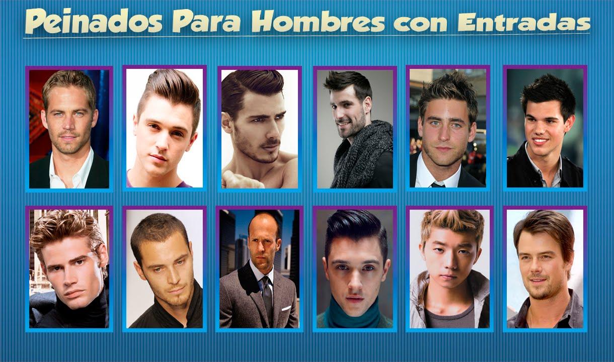 Peinados para hombres con entradas 2016 tipos de peinados - Peinados hombres con entradas ...