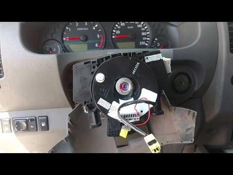 Nissan Frontier Tiida Sentra Livina luz airbag acesa ou buzina não funciona